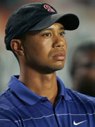 Tiger Woods, shown at a football game in September.