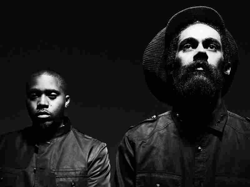 New York rapper Nas and reggae artist Damian Marley.