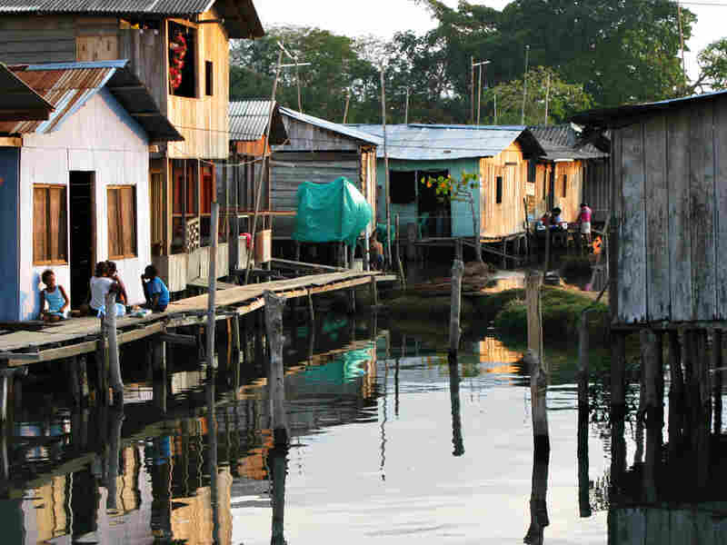 About 80 percent of Tumaco's population lives on or alongside the water