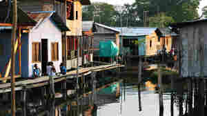 About 80 percent of Tumaco's people live on or alongside the water.