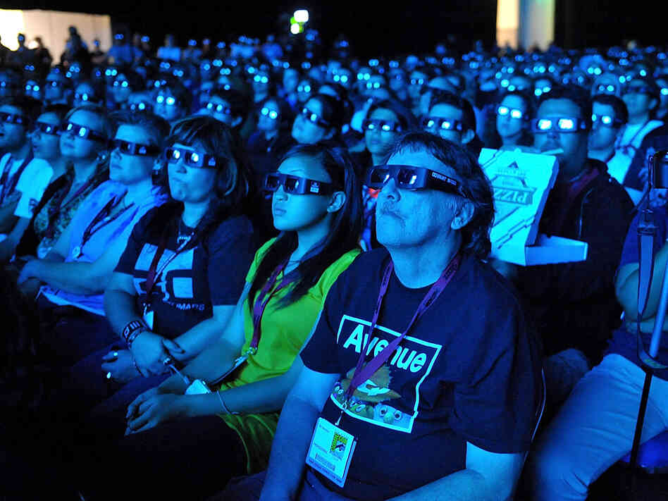Fans at the 'Avatar' Q and A during Comic-Con 2009 held at San Diego Convention Center on July 23, 2