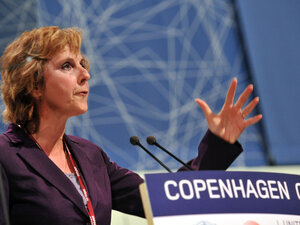 Connie Hedegaard, former Danish climate minister