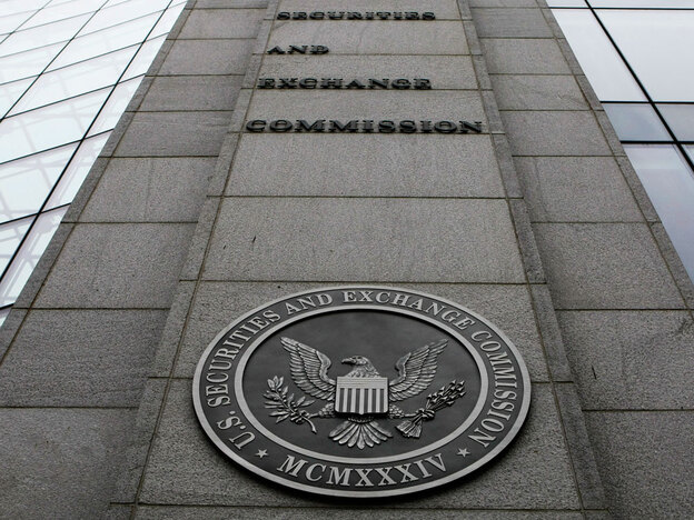 The Securities and Exchange Commission has recently begun to investigate players involved in decisions that led to the financial crisis.