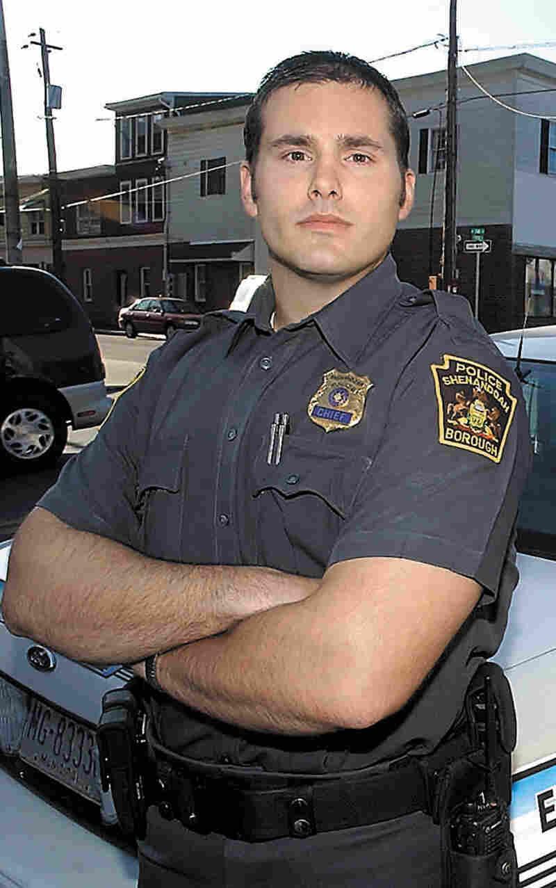 Shenandoah Police Chief Matthew Nestor