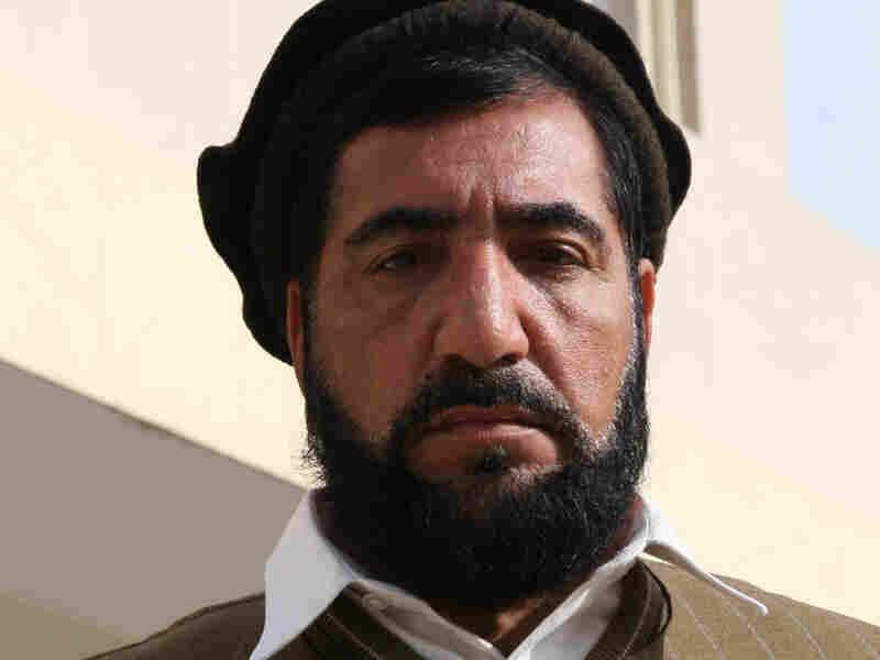 Afghan provincial councilor Mullahjahn Shinwareh.
