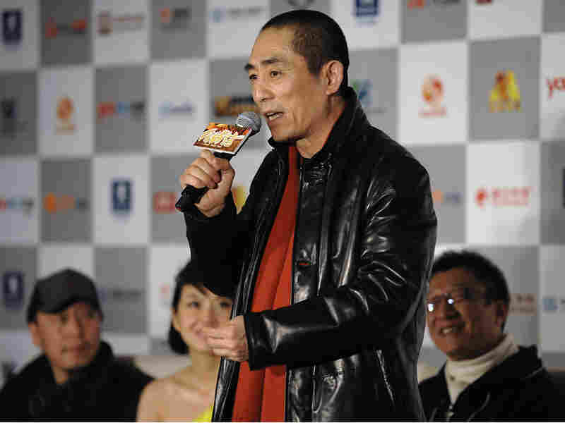 Chinese film director Zhang Yimou
