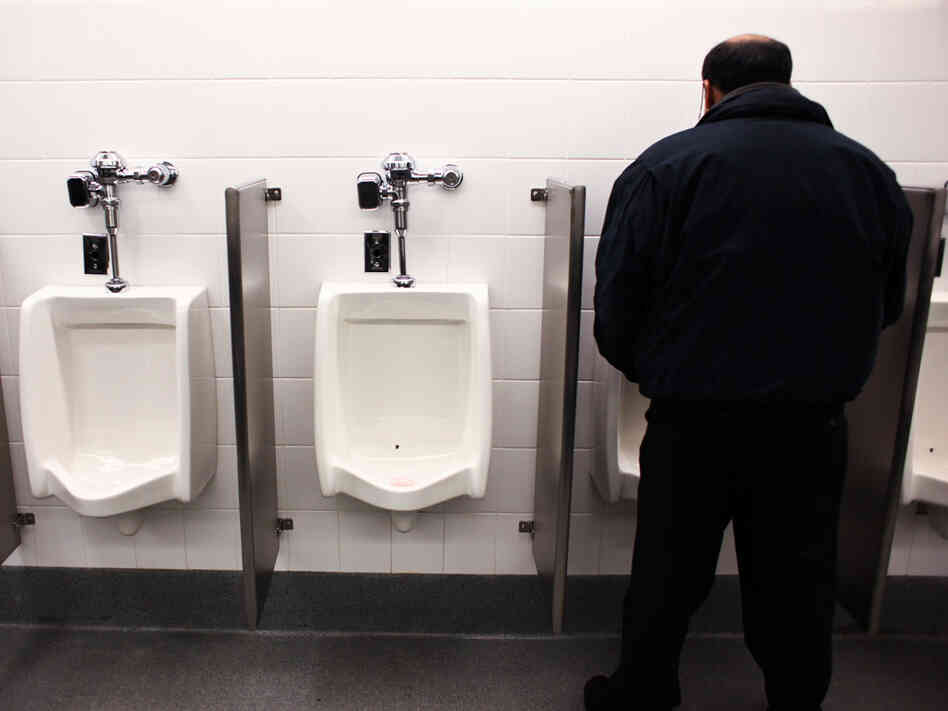 There's A Fly In My Urinal : Krulwich Wonders : NPR