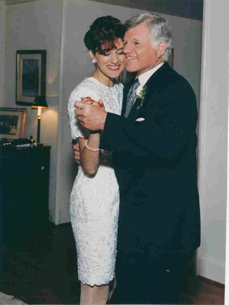 Vicki and Sen. Ted Kennedy. Denis Reggie/Courtesy TWELVE