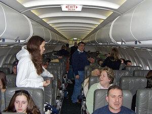 Feb. 14, 2007, stranded passengers aboard JetBlue flight