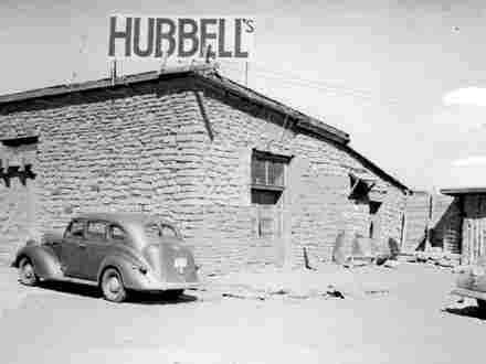 Hubbell Trading Post exterior, 1940