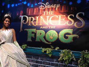 The Princess and the Frog opening