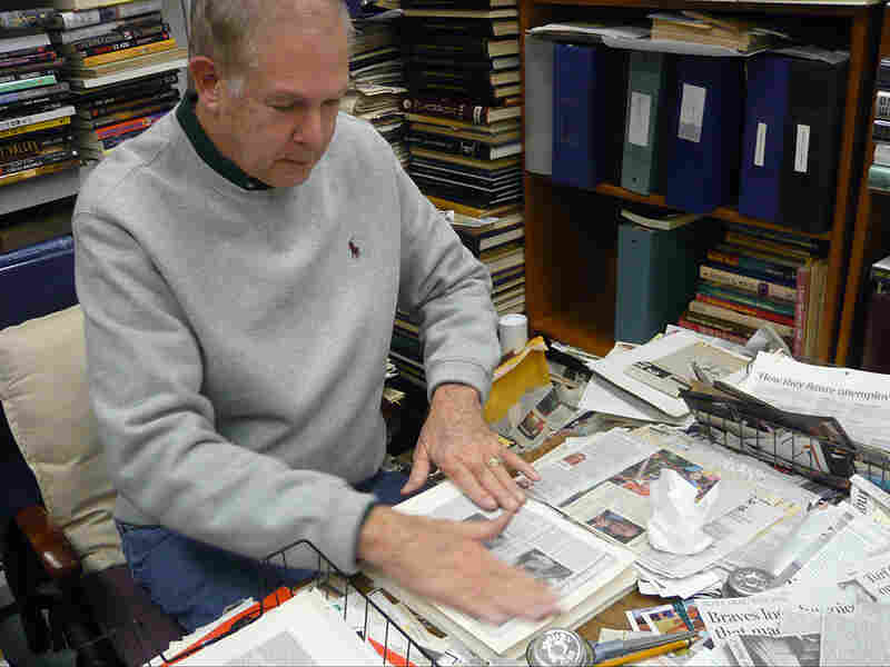 Nowell Briscoe has been collecting obituaries for more than 50 years.