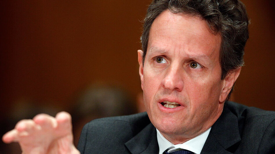 Treasury Secretary Timothy Geithner testifies at a Dec. 10 hearing of the Congressional Oversight Panel on the Troubled Asset Relief Program.