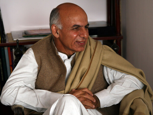 Ashraf Ghani was once Afghanistan's finance minister.  Now, he warns that corruption is destroying the country.