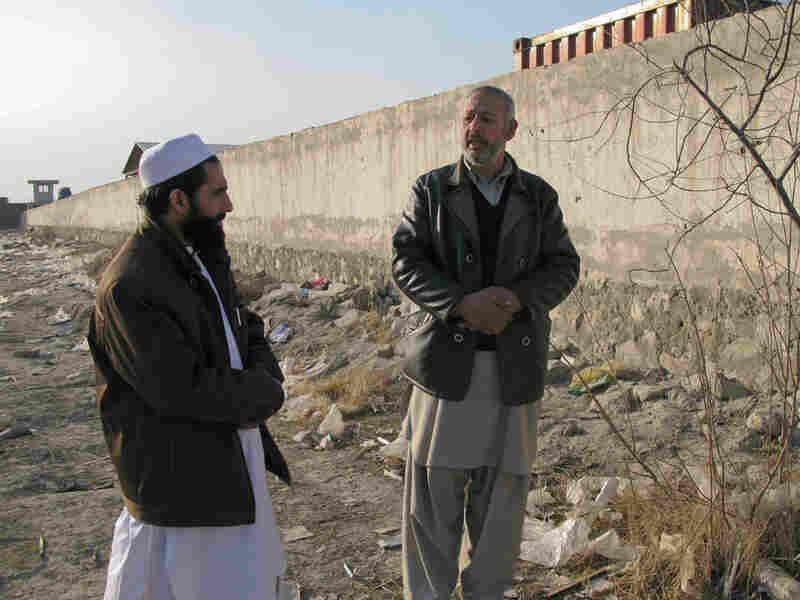 Erfanullah Mahrifat and his client, Aqiqullah.