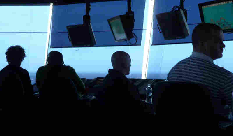 The view inside Atlanta's new air traffic control tower.
