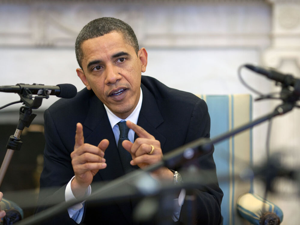 President Obama during an NPR interview.