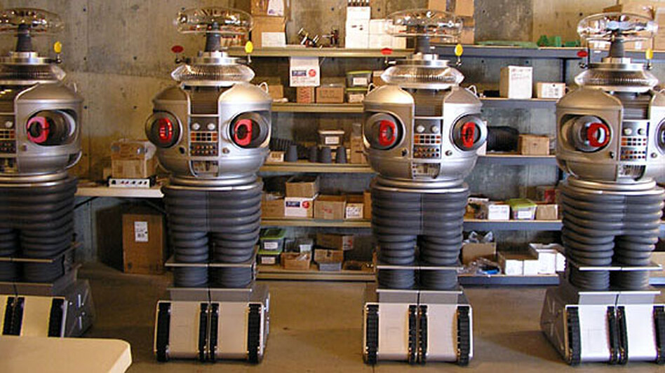Mike Joyce has sold 53 robot replicas at $25,000 apiece.