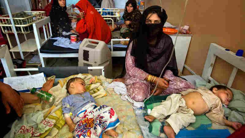 Mirwais Hospital in Kandahar