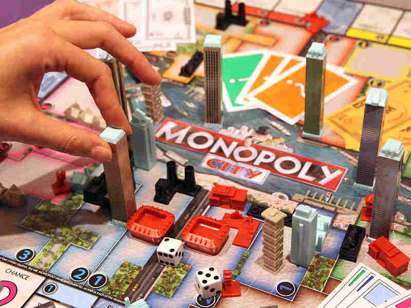 Monopoly City board game.