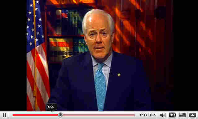 Sen. John Cornyn on YouTube.