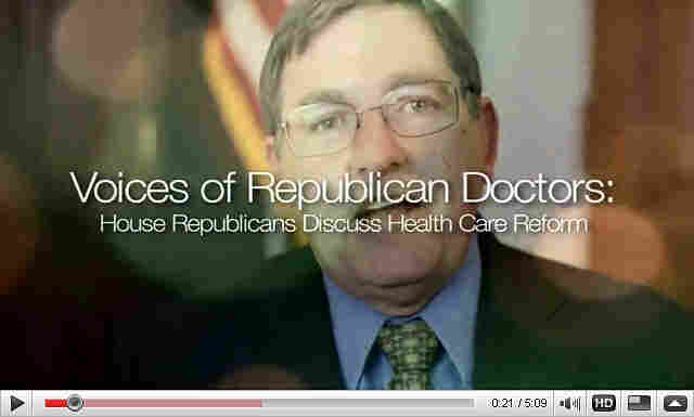 Doctors video produced by Rep. Eric Cantor.