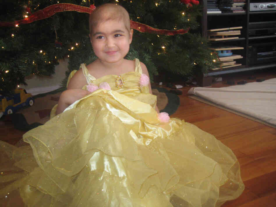 Maya Chamberlin, 4, needs a bone marrow transplant.