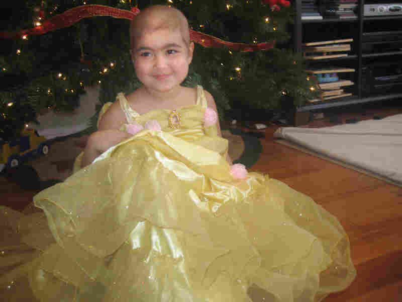 Maya Chamberlin, 4, needs a bone marrow transplant.