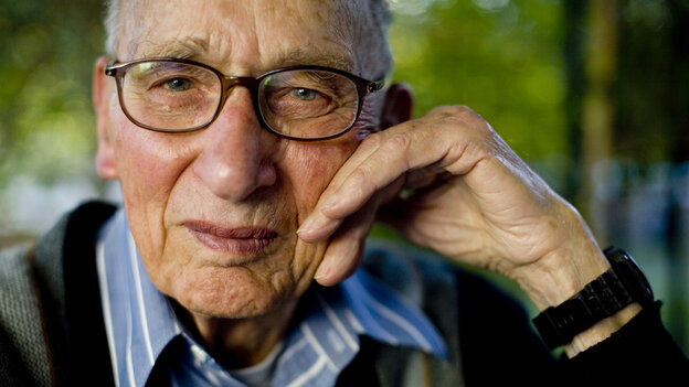 wide: Charles Lord, 89, was a conscientious objector during World War II.