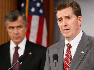 Republican Sen. Jim DeMint of South Carolina