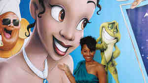 W:Actress Anika Noni Rose provides the voice for Princess Tiana in Disney's 'Princess and the Frog.'