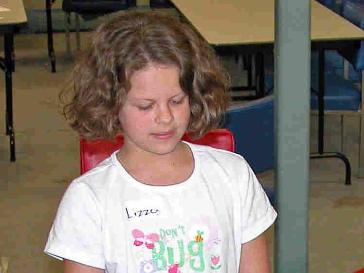 Lizzy Kaltenhauser, 10, participates in a court-mandated divorce class.