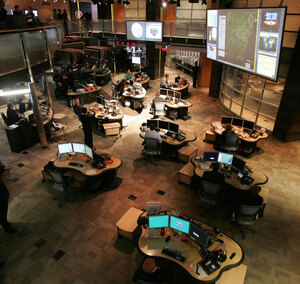 A tremendous flood of information on potential terrorism suspects pours into the National Counterterrorism Center, a clearinghouse agency created after the Sept. 11, 2001, attacks. The NCTC is seen here in 2005.