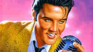 W: Elvis Presley by Mark Struzman, 1993 (U.S. Postal Service)