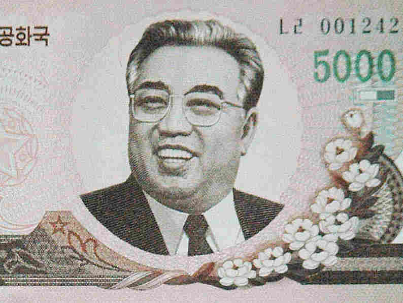 A newly released North Korean bank note features an updated image of Kim Il Sung.