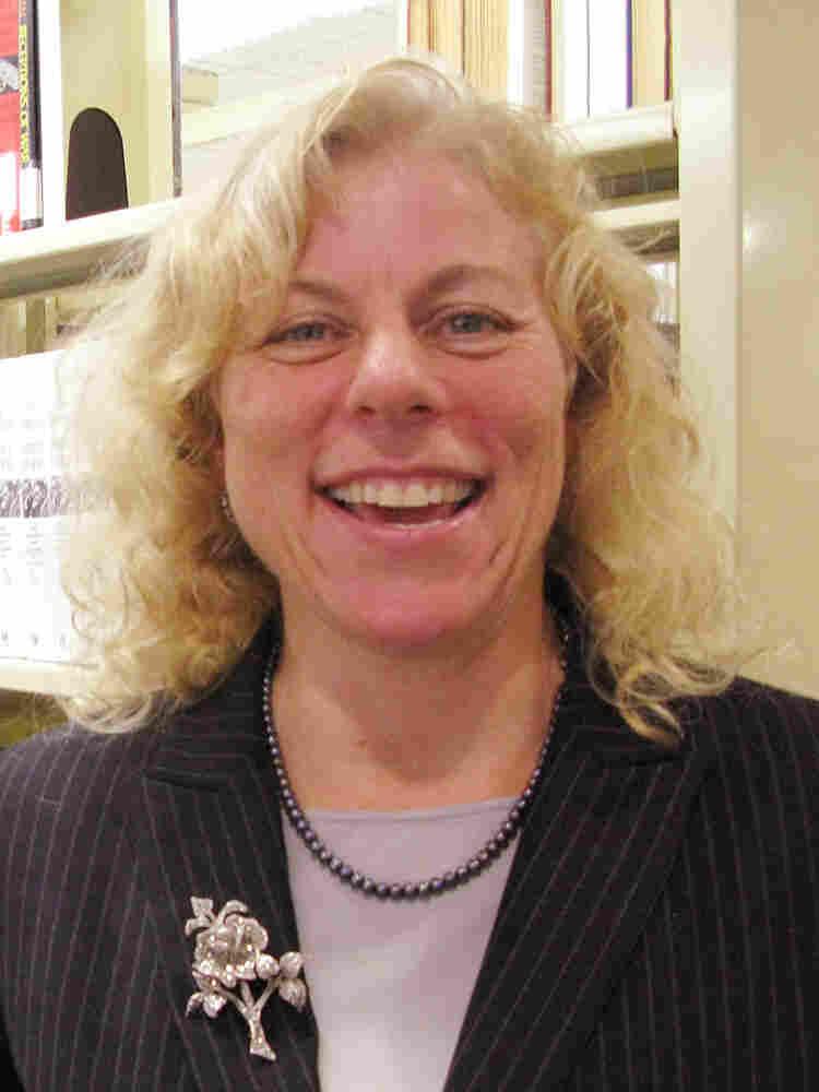 Anthropologist Paula Holmes-Eber . Thomas Pierce/NPR