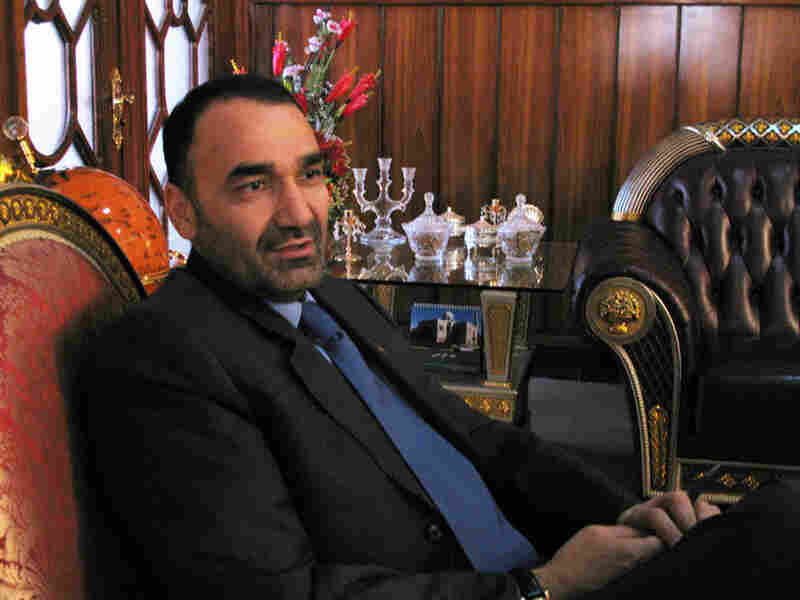 Gov. Atta Mohammad Noor, of Afghanistan's northern Balkh province