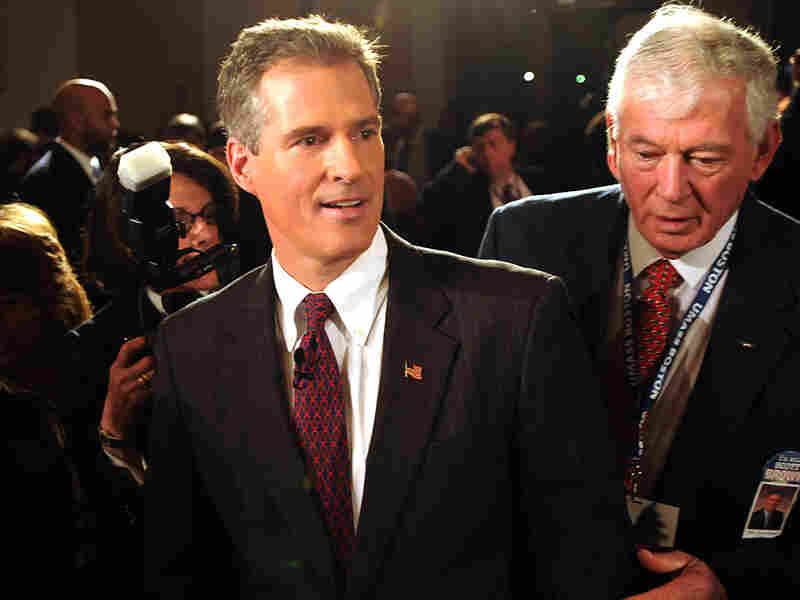 Republican State Sen. Scott Brown has positioned himself as a moderate Republican.