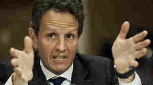Geithner Defends Wall Street Tax, Rescue Of AIG