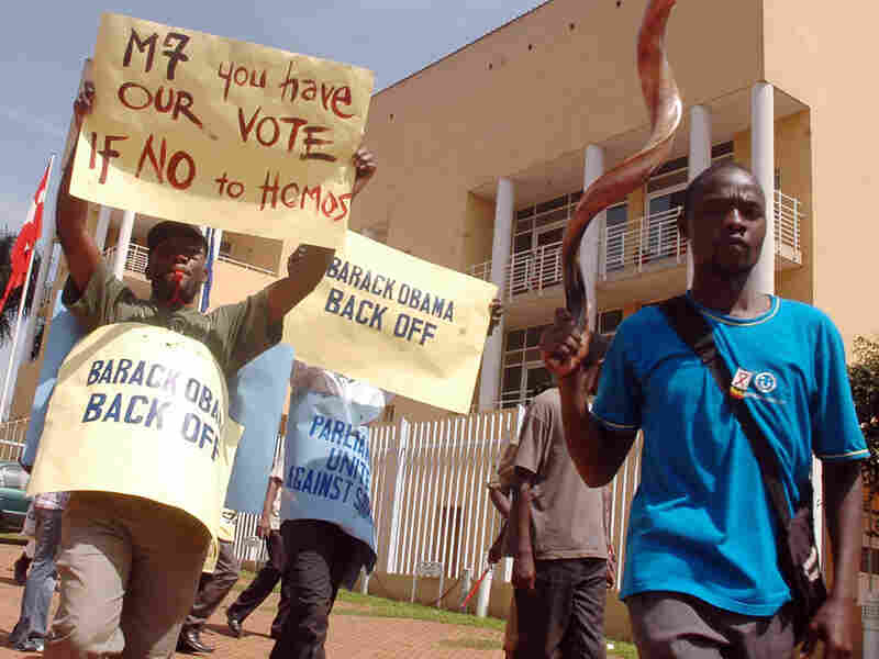 Protesters In Kampala
