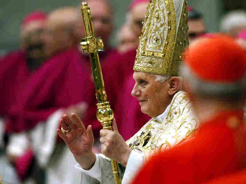 Pope Benedict XVI at the Vatican's St. Peter's Basilica, Dec. 31, 2009