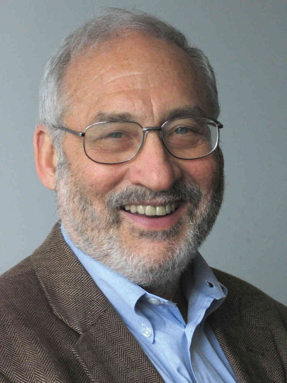 Joseph Stiglitz is the author of a new book about the world economy.
