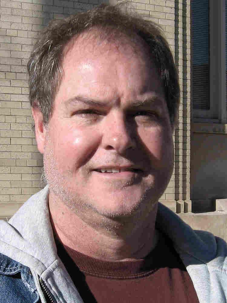 Voter Richard Blumenshine