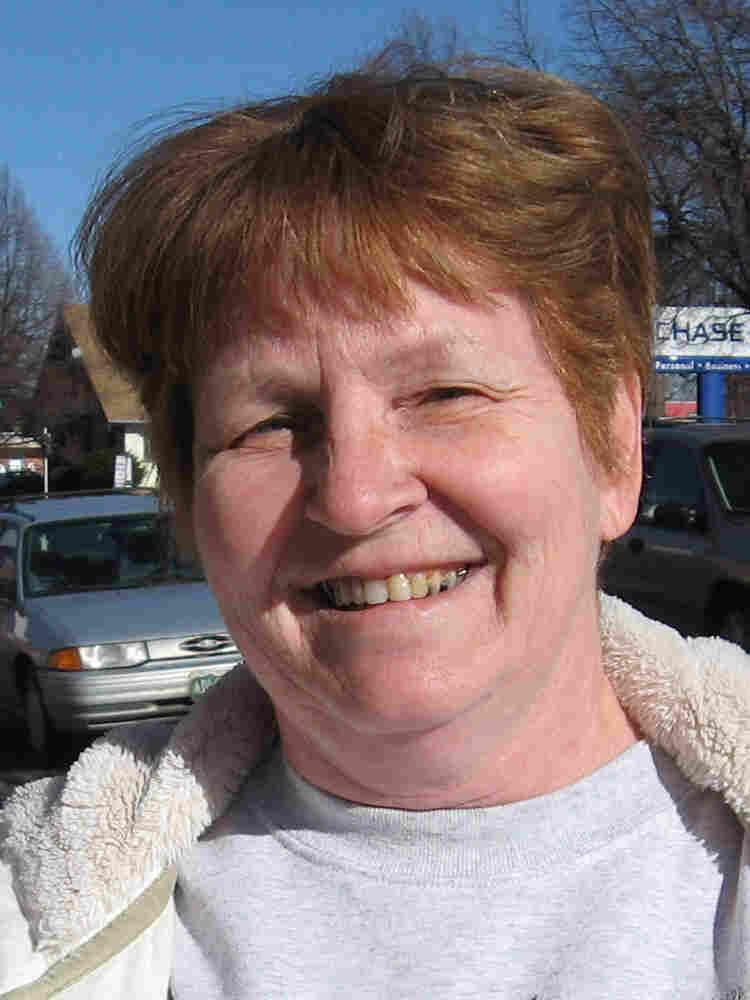 Voter Joan Morrison