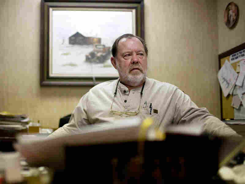 Ken Herzog, manager of Trammel's Lubbock Bail Bond for over 25 years.