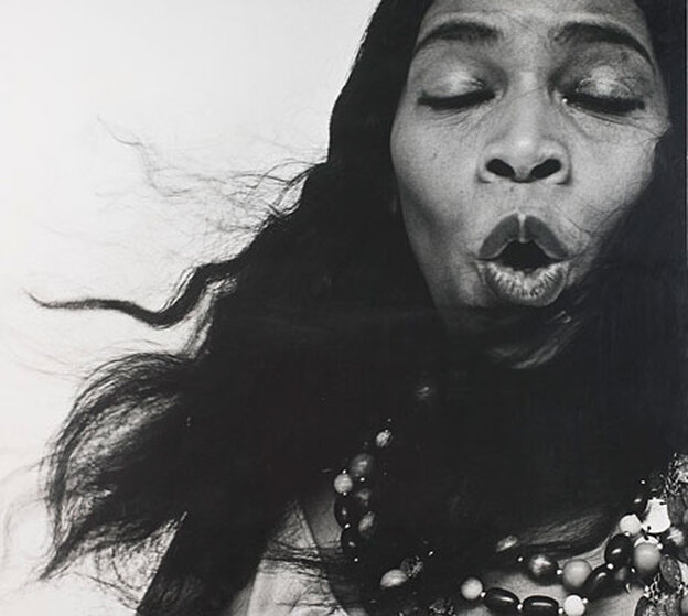 Marian Anderson, by Richard Avedon.
