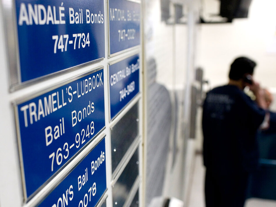 Bail Burden Keeps U S  Jails Stuffed With Inmates | WBUR News