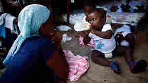 The Maison des Enfants de Dieu Orphanage in Port-au-Prince holds more than 150 infants.