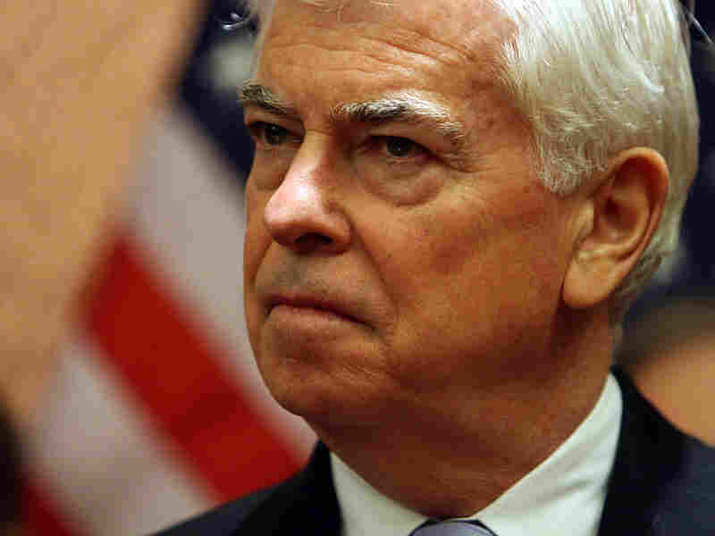 Senate Banking Committee Chairman Christopher Dodd