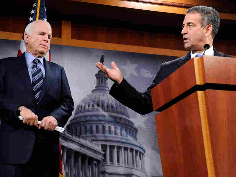 Sens. John McCain and Russ Feingold